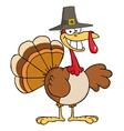 Thanksgiving Pilgrim Turkey Bird Smiling
