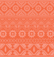 bright pink native american ethnic pattern vector image