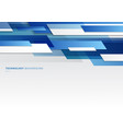 abstract header blue and white shiny geometric vector image vector image
