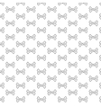Bones pattern black and white vector image vector image