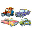Cars Collection vector image vector image