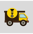 construction gear icon screw fixing vector image vector image