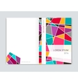 Cover design for Brochure leaflet flyer Abstract vector image vector image