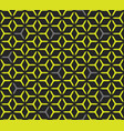 geometric cubic grid seamless pattern vector image