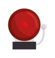 ring school alarm icon vector image