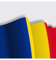 Romanian waving Flag