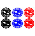 samoa rubber stamp vector image vector image