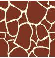 giraffe seamless pattern texture vector image