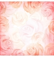abstract romantic background in pink colors vector image vector image