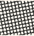 black and white seamless pattern with diagonal vector image vector image