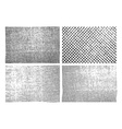 Grunge stripe texture backgrounds set vector image