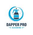 hygiene spray tool logo vector image
