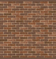 retro brick wall vector image