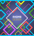contemporary banner template geometric design web vector image