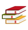 Education and books concept icon vector image vector image