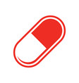 medical pills icon - medicine vector image