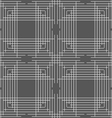 Monochrome pattern with thin gray intersecting vector image