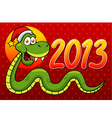 Snake 2013 vector image vector image