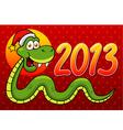Snake 2013 vector image