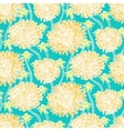Vintage floral pattern with dandelions or asters vector image vector image