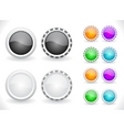 website menu vector image vector image