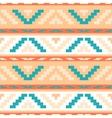 Buttercream stripped tribal geometric pattern vector image