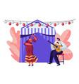 cinco de mayo festival latin folk music vector image vector image