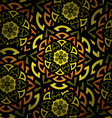 mandala round ornament pattern islam arabic indian vector image