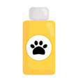 pet shampoo bottle icon vector image