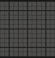 seamless pattern with lines squares stripes vector image vector image