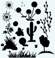 Set plants vector image vector image