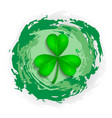 st patrick s day green texture vector image