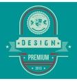 Vintage Web design vector image vector image