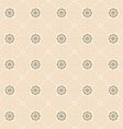 background pattern seamless geometric Flower vector image