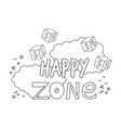 blocks numbers toys happy kids zone vector image vector image