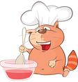 Cute Cat Cartoon Character vector image vector image