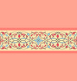 ethnic ribbon pattern vector image vector image