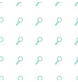 magnifier icon pattern seamless white background vector image vector image