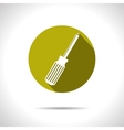 phillips screwdriver icon Eps10 vector image vector image