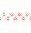 sun spiral flare confetti polka dot seamles vector image vector image