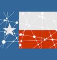 texas flag concept vector image