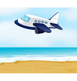 an airplane vector image vector image