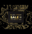 black friday sale sign up to 50 percent off vector image
