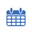 calendar icon - event symbol - day or month icon vector image vector image
