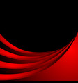 dark red abstract corporate wavy background vector image vector image