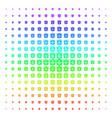 dollar banknote shape halftone spectrum pattern vector image