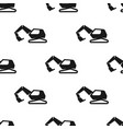 excavator seamless pattern vector image vector image