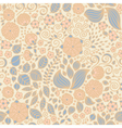 Floral doodle wallpaper seamless pattern