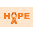 Leukemia cancer ribbon