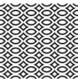 monochrome seamless pattern black white mosaic vector image vector image